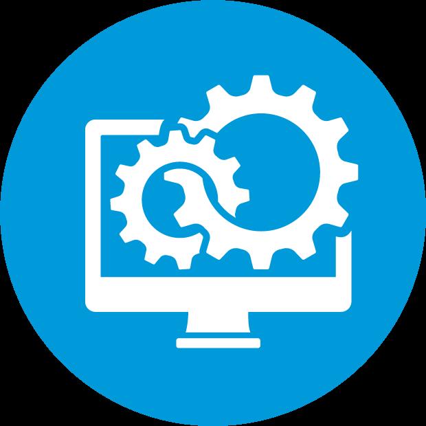 CRM icon (circle)