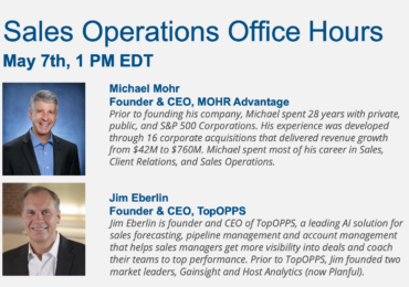 Sales Operations Office Hours – Sales and Pipeline Management
