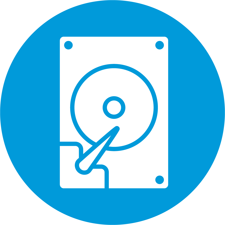 data capture icon (circle)