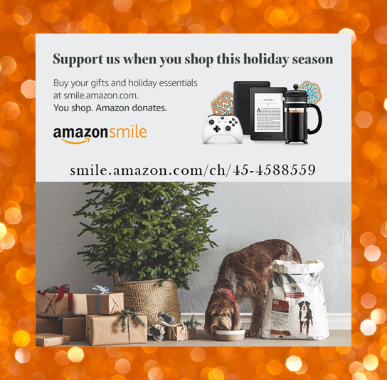 Amazon Smile for all your Shopping!