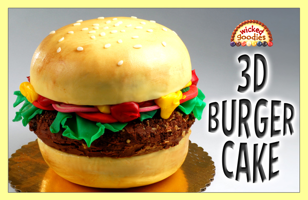 Hamburger Cake Tutorial