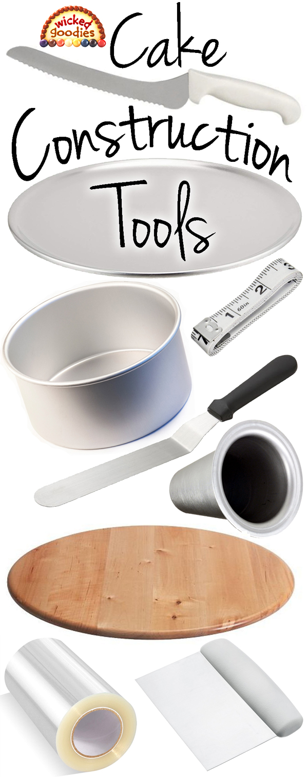 Handy Cake Construction Tools