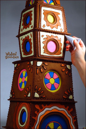 Gingerbread House Building by Wicked Goodies