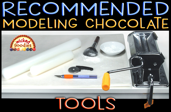 Recommended Modeling Chocolate Tools