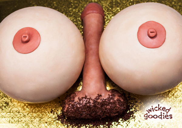 3D Titty Fuck Cake