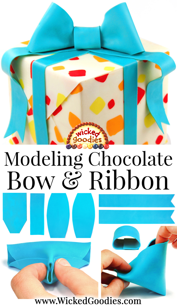 Modeling Chocolate Bow and Ribbon Tutorial