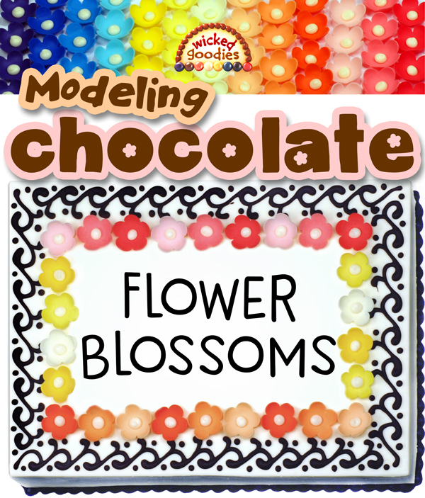 Modeling Chocolate Blossom Flowers