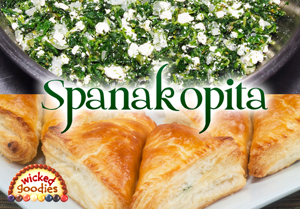 Spanakopita Spinach Feta Pie Recipe