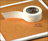 White Electrical Tape by Wicked Goodies