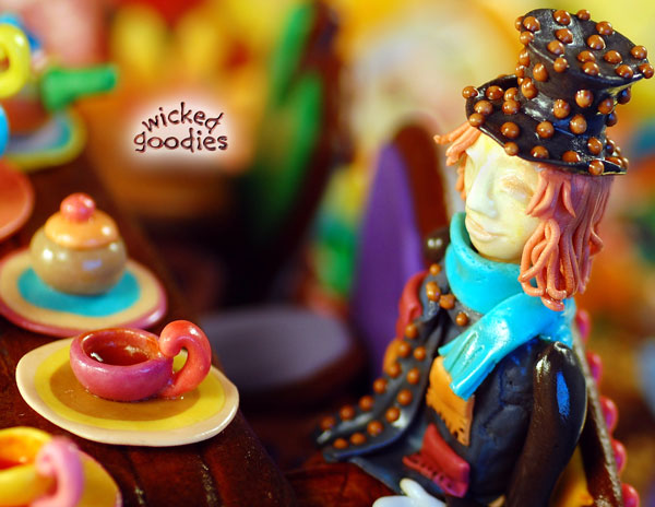 Alice in Wonderland Gingerbread House