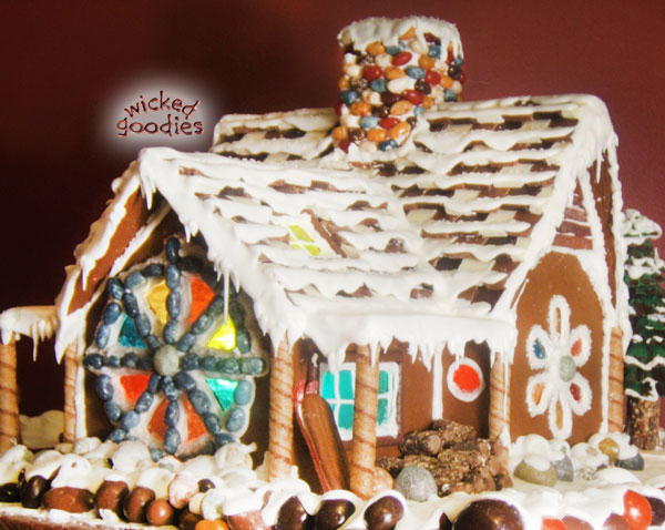 Gingerbread House Ski Chalet