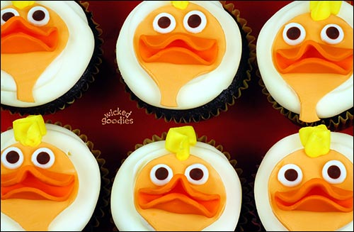 How to Make Duck Cupcakes by Wicked Goodies