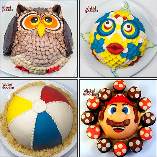 How to Make a Half Sphere Cake by Wicked Goodies