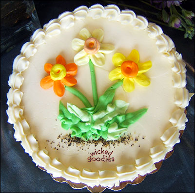Daffodil Cake by Wicked Goodies