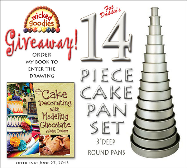 Wicked Goodies Cake Pan Set Giveaway