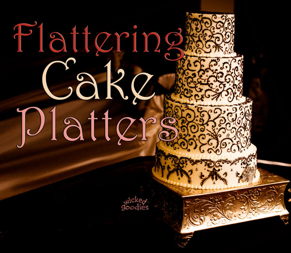 Cake Platters Stands Boards and Drums