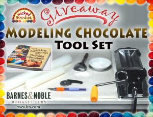 B&N Promotion Cake Decorating with Modeling Chocolate