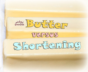 Butter Versus Shortening for Cake Frosting Recipes