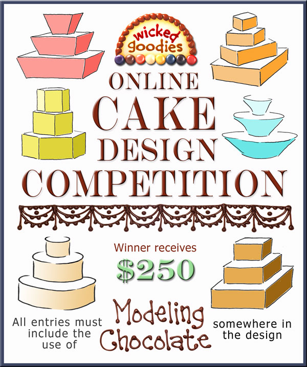 Online Cake Design Competition Wicked Goodies