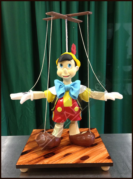 Pinnocchio Cake Decorated with Modeling Chocolate