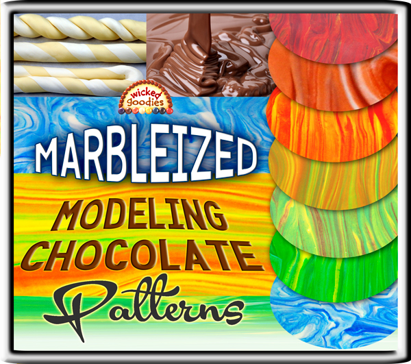 Marbled Modeling Chocolate Tutorial