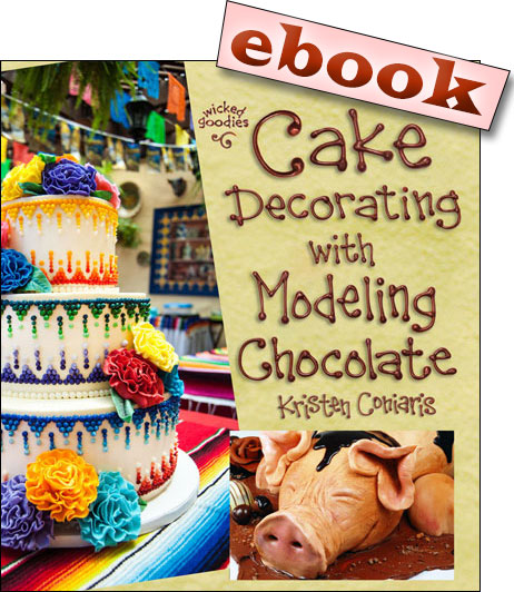 Cake Decorating with Modeling Chocolate ebook by Wicked Goodies