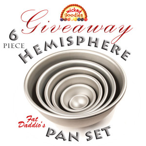 Hemisphere Pan Set Giveaway Wicked Goodies