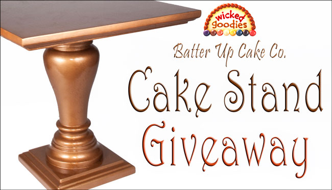 Cake Stand Giveaway