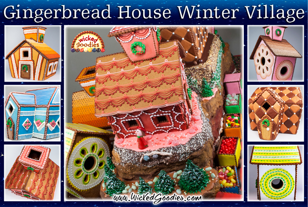 Gingerbread House Village