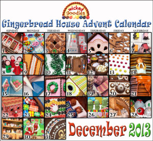 Gingerbread House Advent Calendar Wicked Goodies