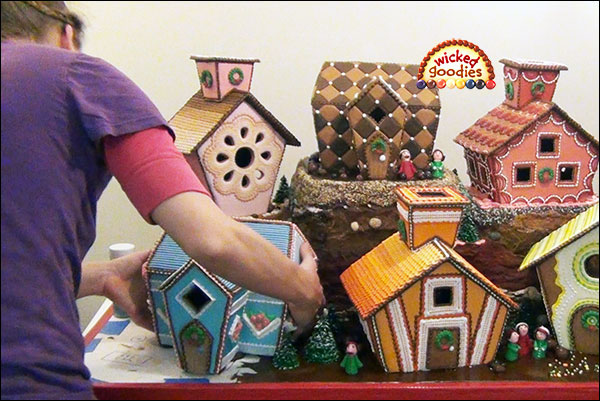 Behind the Scenes Making of a Giant Gingerbread Houseb