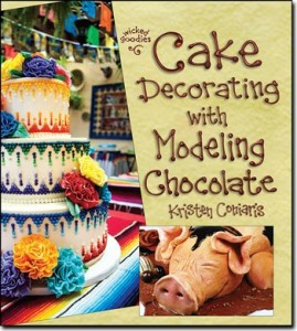 Cake Decorating with Modeling Chocolate book by Kristen Coniaris
