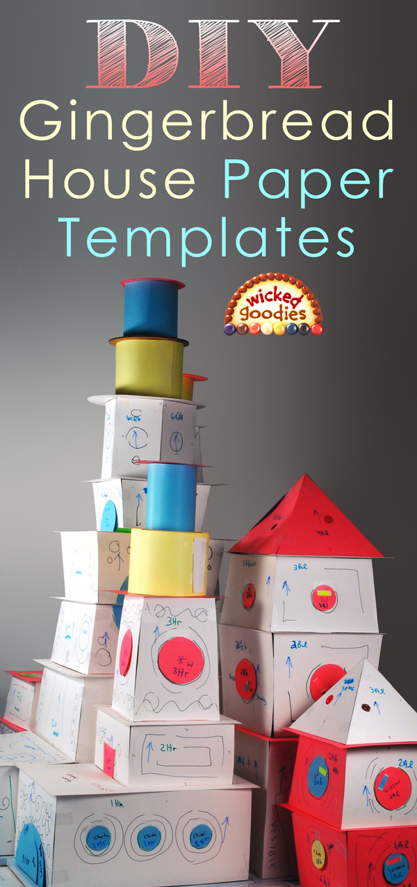 DIY Gingerbread House Templates
