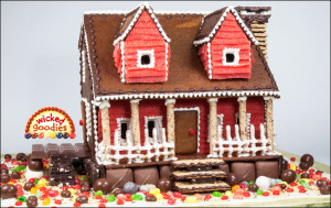 Easter Themed Gingerbread House