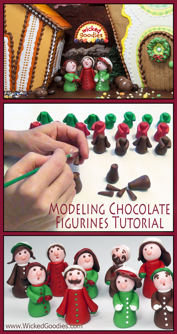 Modeling Chocolate Figurines