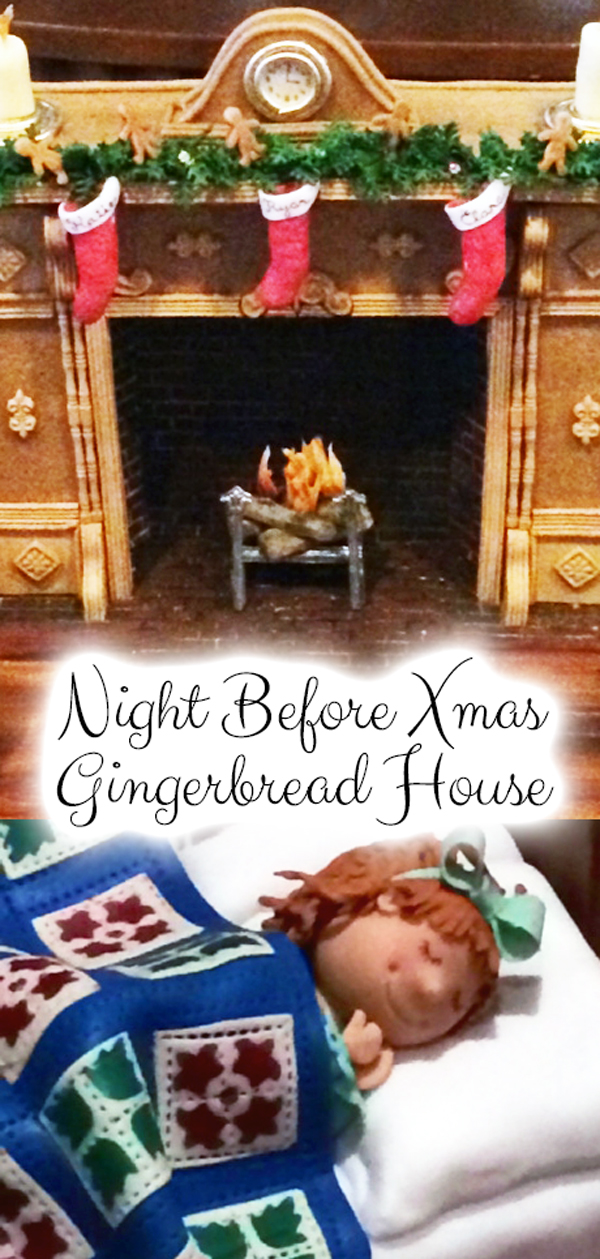 Night Before Xmas Gingerbread House