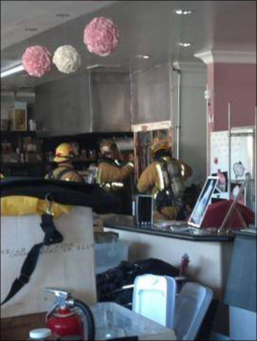 Fire in Bakery