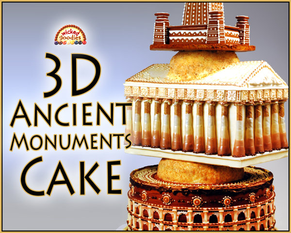 Ancient Monuments Cake
