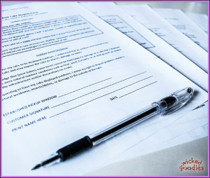 Cake Bakery Business Forms