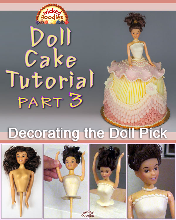 Doll Cake Tutorial Part 3