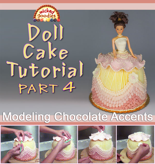 How to Decorate a Doll Cake