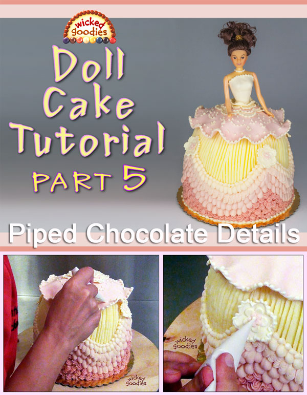 Doll Cake Tutorial Part 5