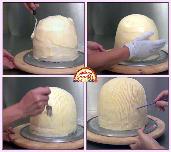 How to Decorate a Doll Skirt Cake
