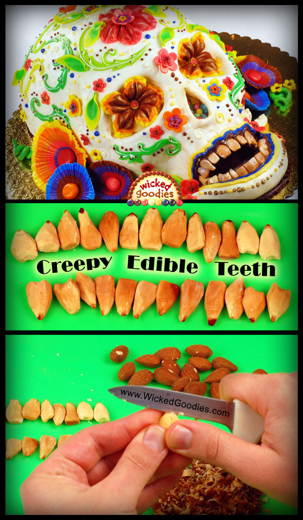 Creepy Edible Teeth Wicked Goodies