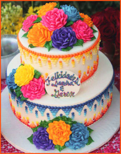 Mexican-Fiesta-Cake-with-Roses