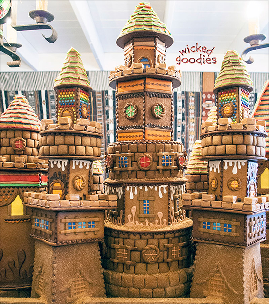 Gingerbread House Cookie Castle
