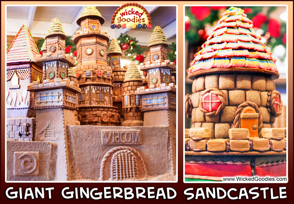 Gingerbread Cookie Castle