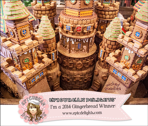 Award Winning Gingerbread House Castle