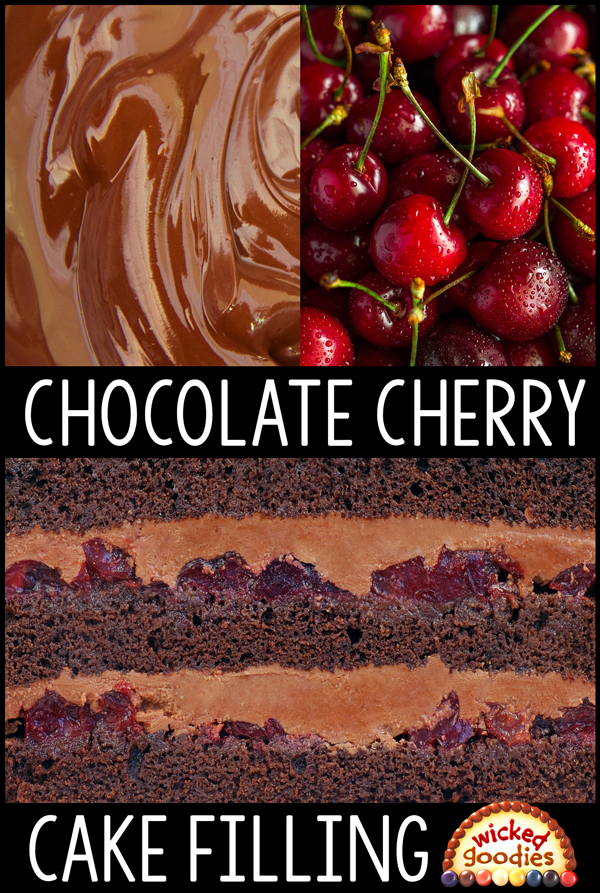 Chocolate Cherry Cake Filling Recipe