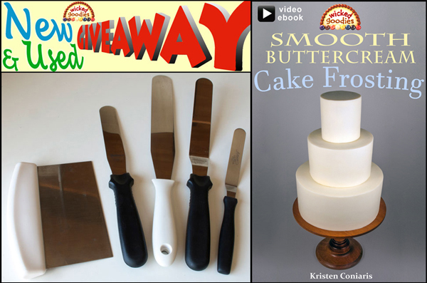 Buttercream Frosting Tools Giveaway